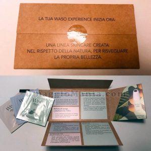 kit campioni omaggio Waso Experience Shiseido di Lorenza