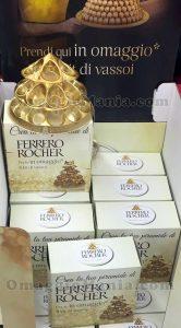 kit vassoi Ferrero Rocher omaggio di Stefania