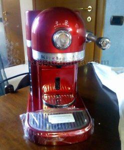 macchina caffè Nespresso KitchenAid Artisan di Sonia 1