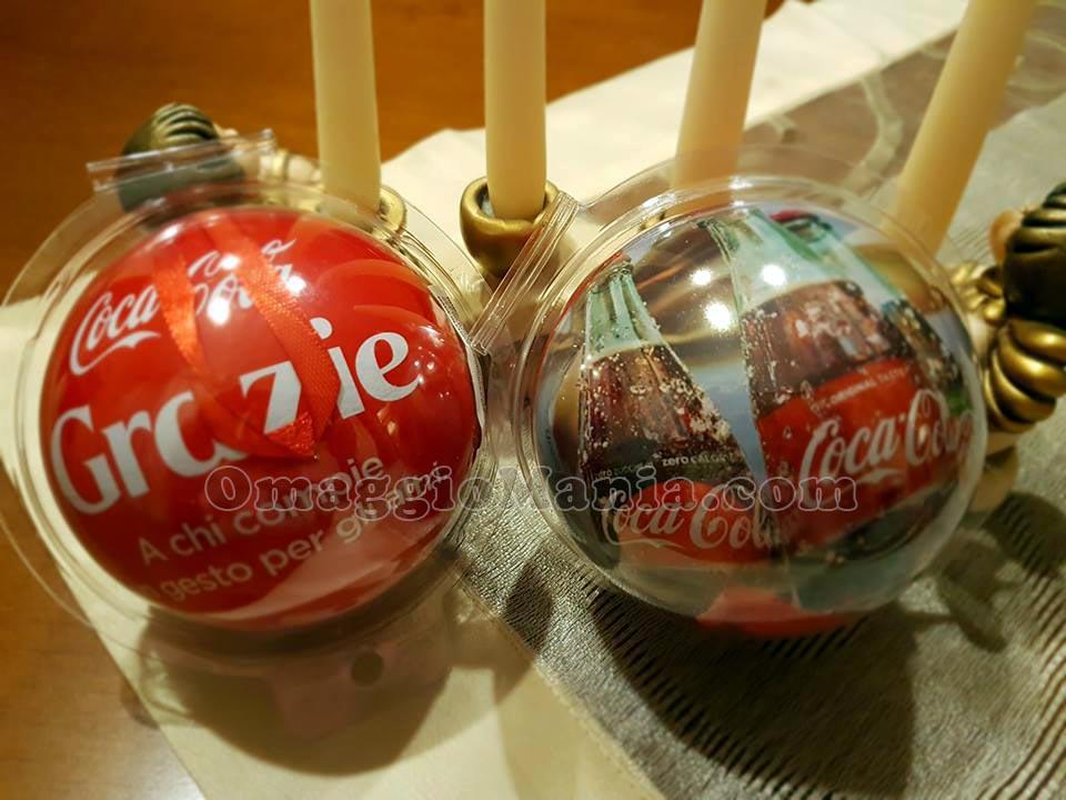 palline di Natale Coca Cola di Valentina
