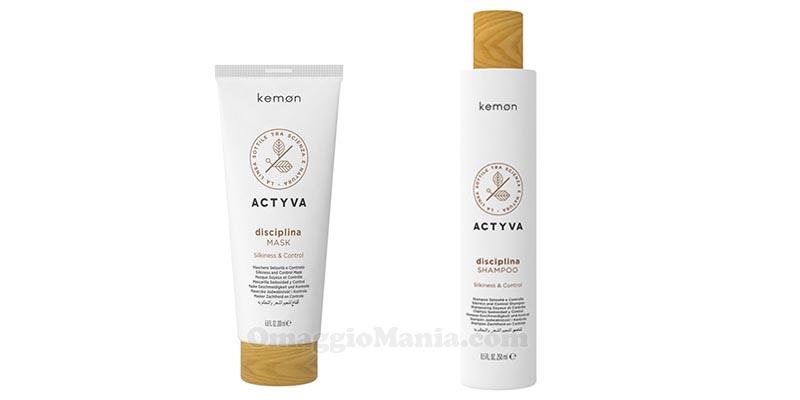 shampoo e mask Actyva Disciplina Kemon