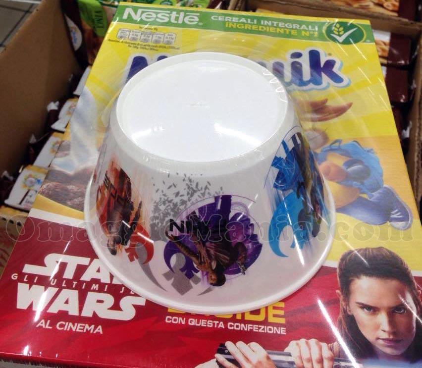 tazza Star Wars Nesquik di Tatiana