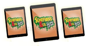 vinci iPad Mini con Scorpions &Co Slime Edition
