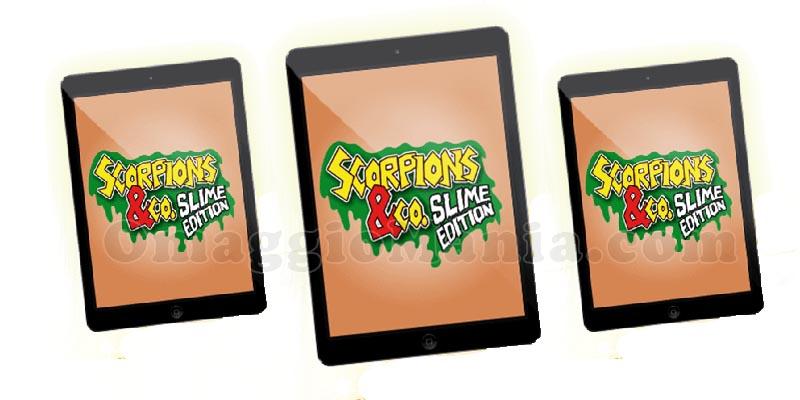 vinci iPad Mini con Scorpions &Co Slime Edition