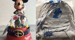 zainetto e palla di vetro Disneyland di Marzia