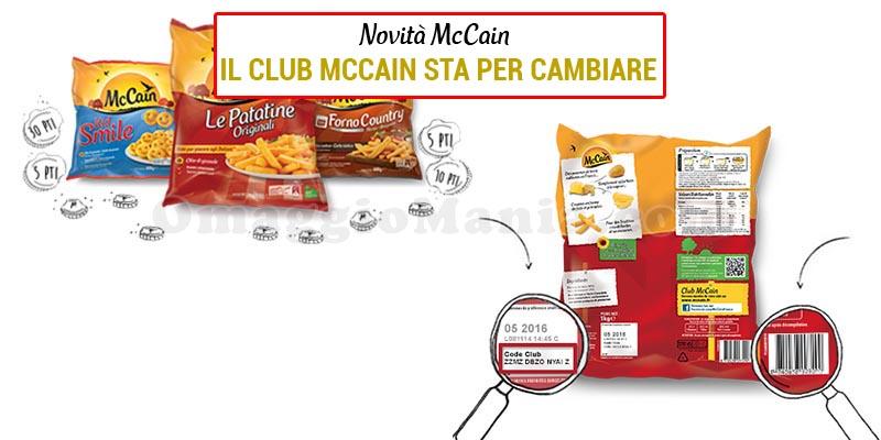Il Club McCain sta per cambiare