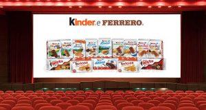 Kinder e Ferrero Vola Al Cinema