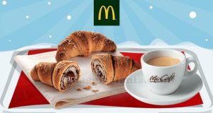 McDonald's WinterDays 2017 sconto caffè brioche