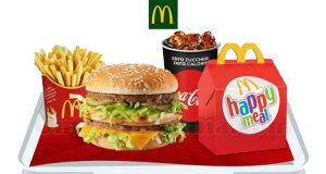 McMenu e Happy Meal a 8€ da McDonald's