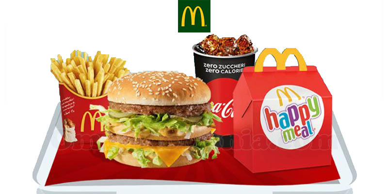 McMenu e Happy Meal a 8€ da McDonald's