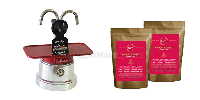 Moka Mini e Xmas Blend CaffèLab