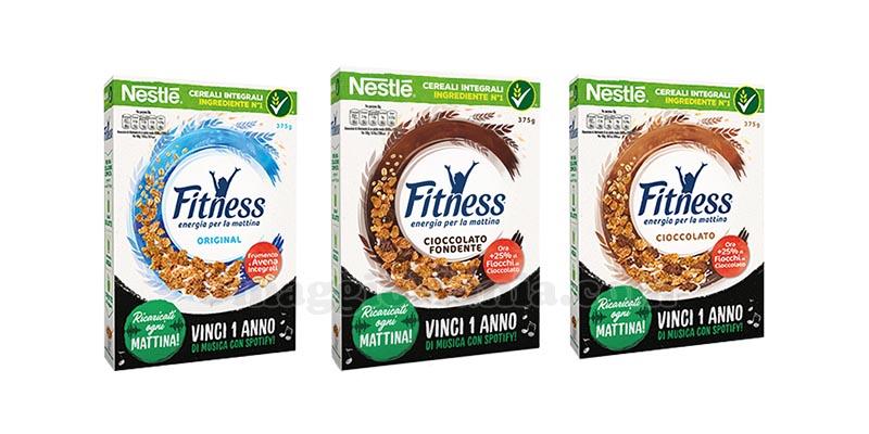 Nestlé Fitness Vinci 1 anno di musica con Spotify