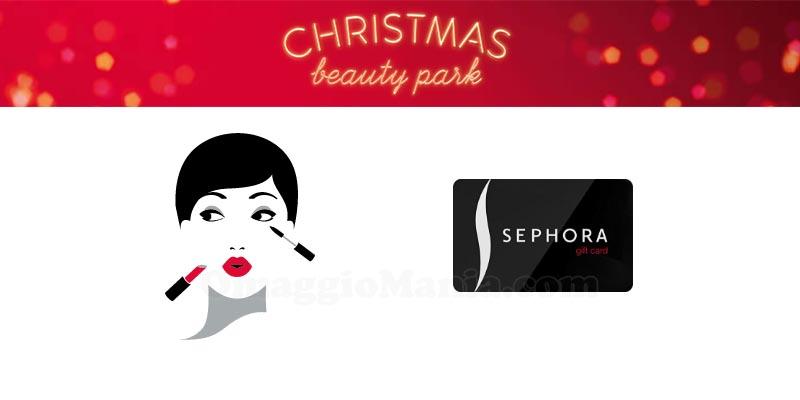Sephora Christmas Beauty Park
