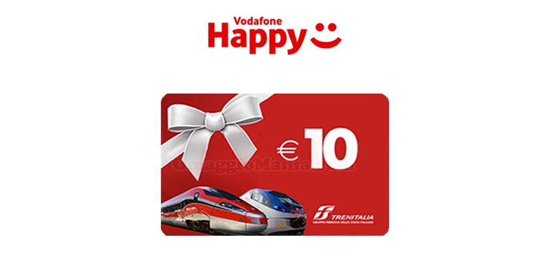 Vodafone Happy Friday Trenitalia