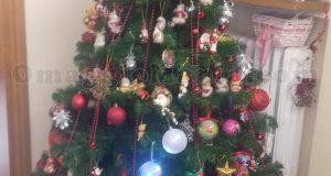 albero di Natale Ferrero vinto da Emanuela