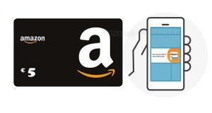 app Amazon buono sconto 5 euro