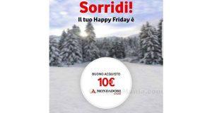 buono acquisto Mondadori Vodafone Happy Friday 22 dicembre 2017