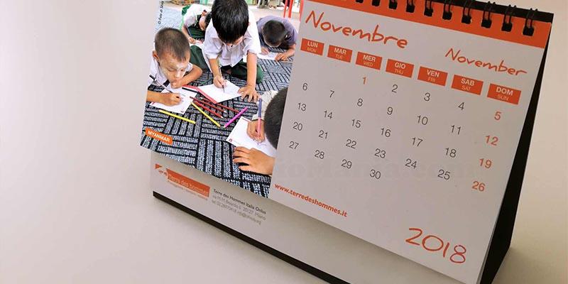 calendario 2018 Terre des Hommes