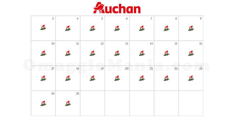 calendario Avvento Auchan 2017