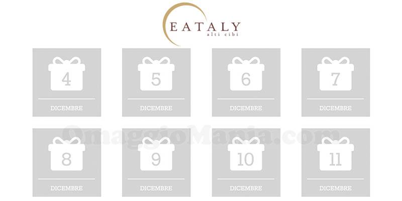 calendario Avvento Eataly 2017