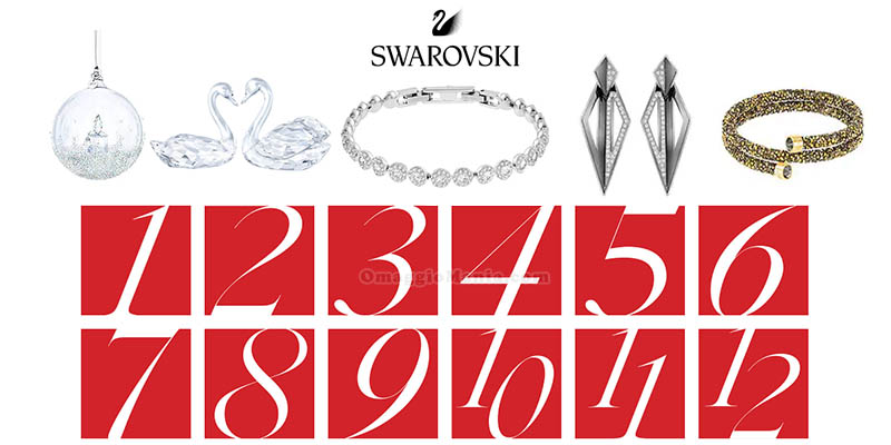 calendario Avvento Swarovski 2017