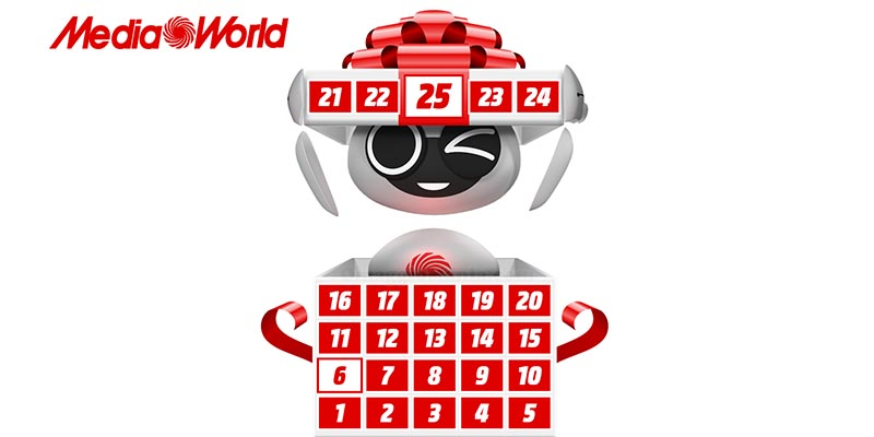 calendario dell'Avvento MediaWorld 2017