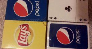 carte da gioco Pepsi e Lay's di Sabry77