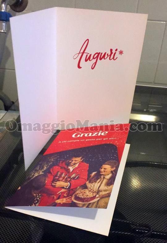 cartoline Auguri buon Natale 2017 di Coca Cola