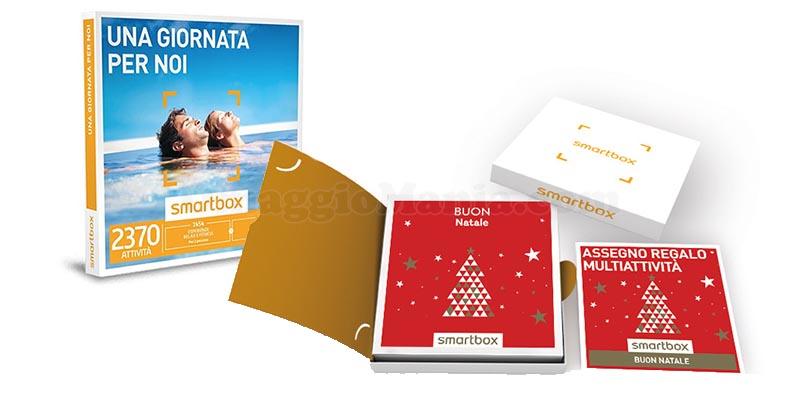 cofanetti Smartbox Buon Natale Una giornata per noi