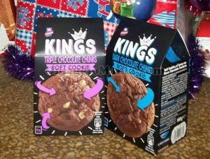 confezioni di biscotti Kings Soft Cookie di Roberta