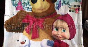 coperta di Masha e Orso di Tatiana con Narhinel