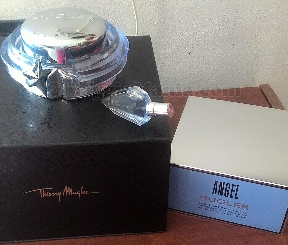 crema corpo e profumo Angel Thierry Mugler di Patrizia