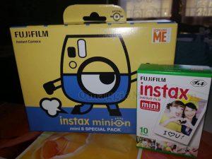 fotocamera Instax Minion di Miriam