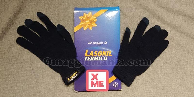 guanti touch screen Lasonil Termico