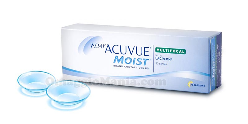 lenti a contatto Acuvue Moist Multifocal 1-Day