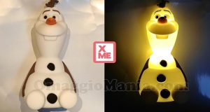 luce amica SoftPal Philips Olaf Frozen con PrenotaXMe