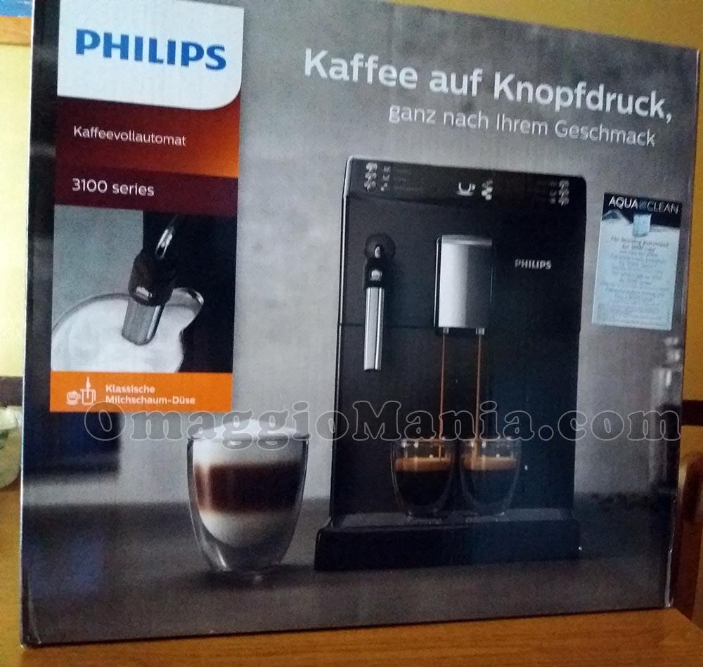 macchina caffè Philips Serie 3100 di Claudia