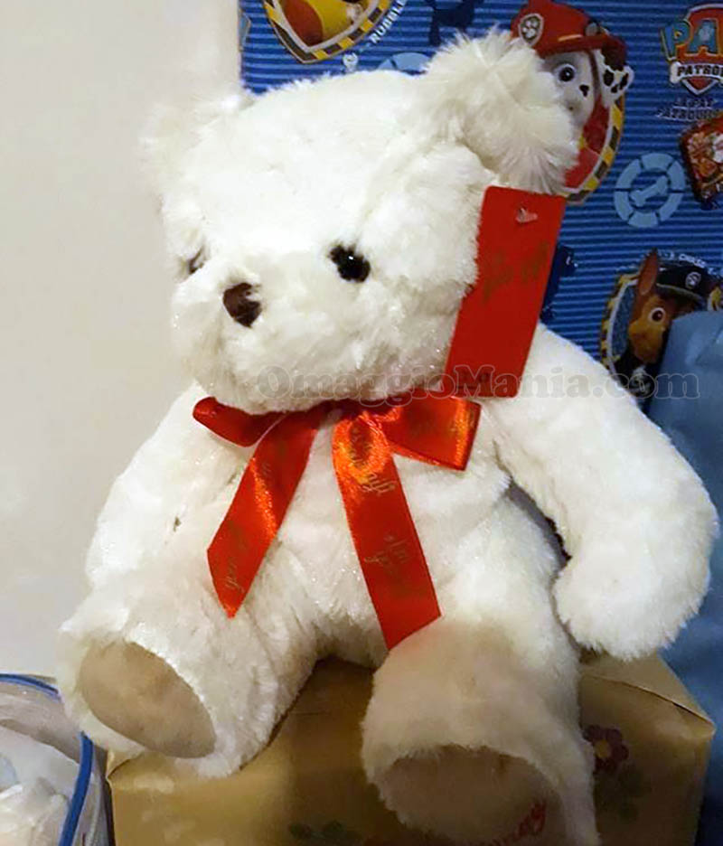 peluche bianco Yamamay di Ely