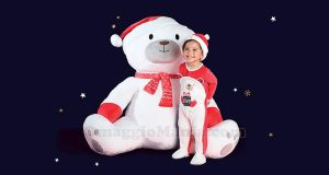 peluche gigante dell'orso Leone Sergent Major
