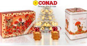 portadolci e biscottiera omaggio da Conad
