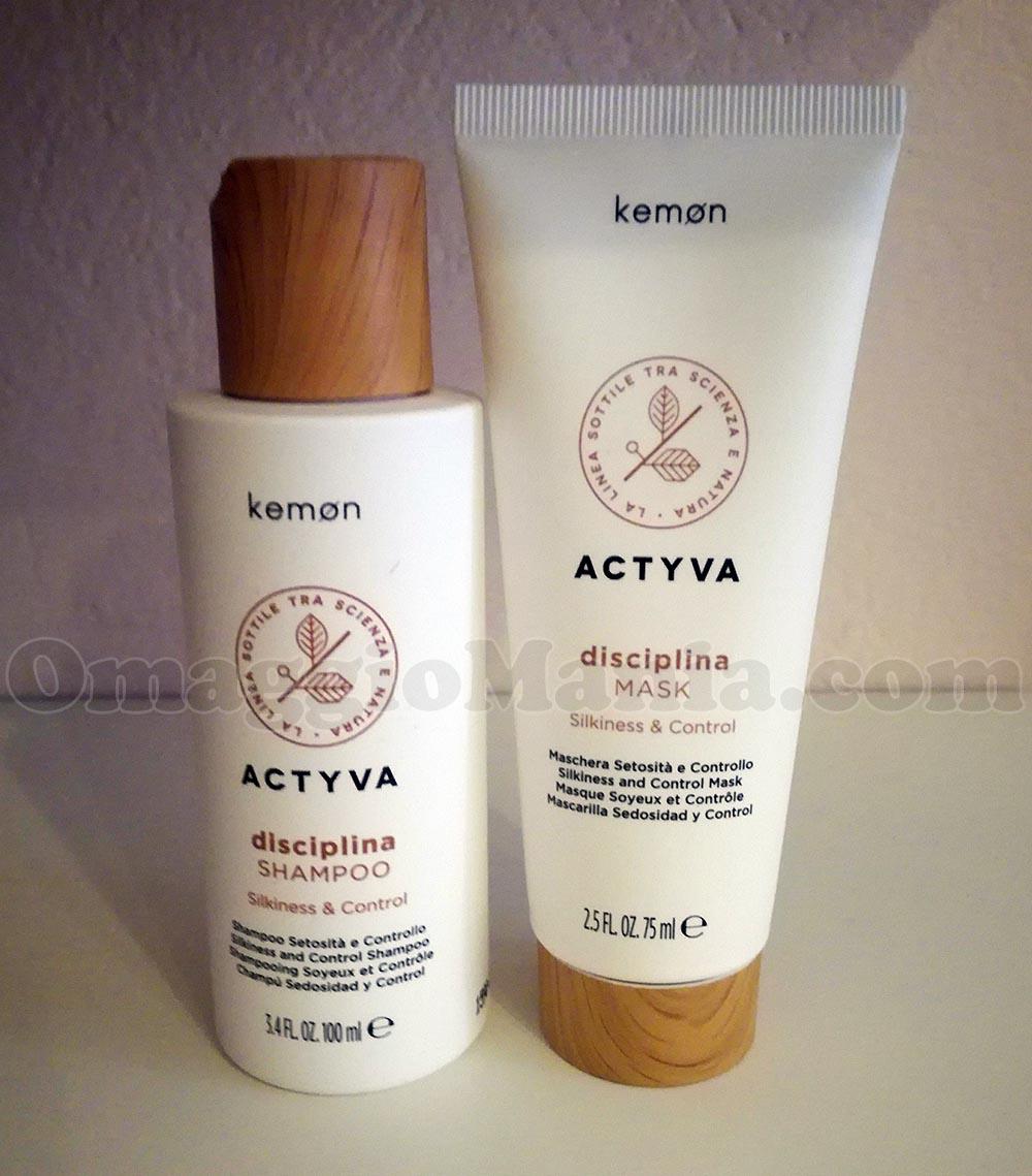 shampoo mask Actyva Disciplina Kemon di maura