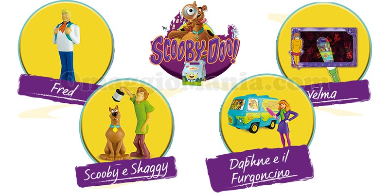 sorprese Scoopy Doo Burger King