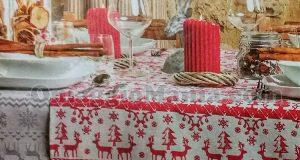 tovaglia natalizia omaggio da Tigotà