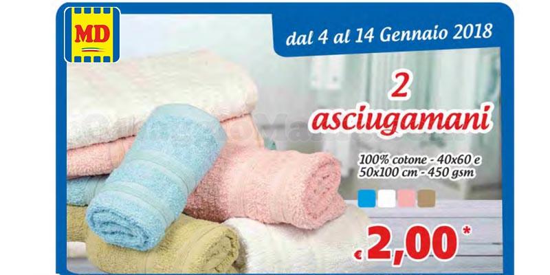 2 asciugamani a 2 euro MD