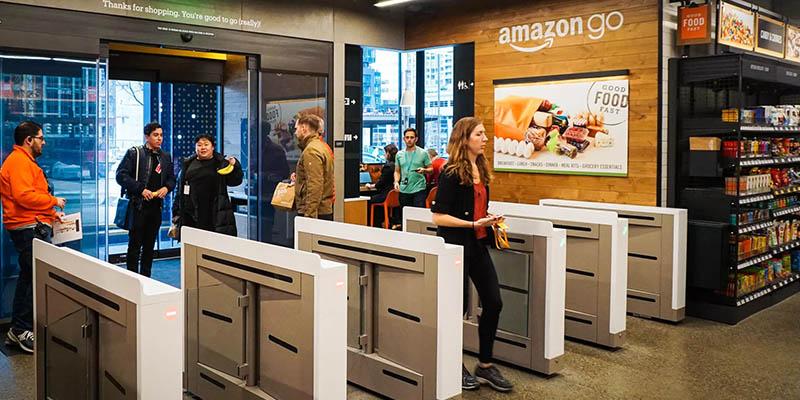 Amazon Go supermercato smart