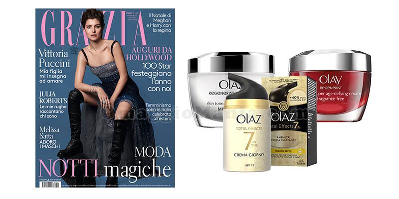Con Olaz puoi vincere un abbonamento annuale a una rivista femminile