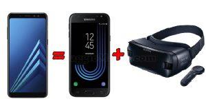 Con Samsung Galaxy A8 ricevi in regalo J3 e Gear VR