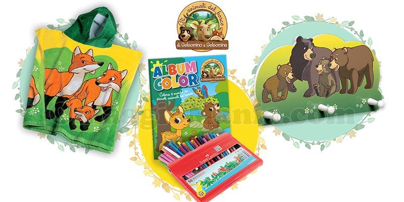 Gli Animali del Bosco collection