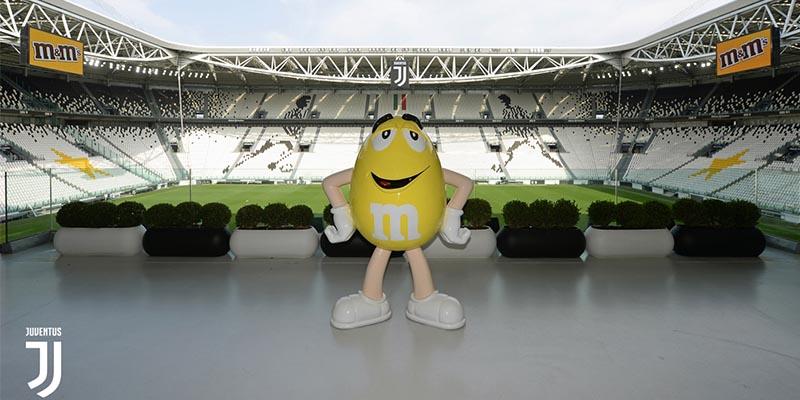 M&M's e Juventus