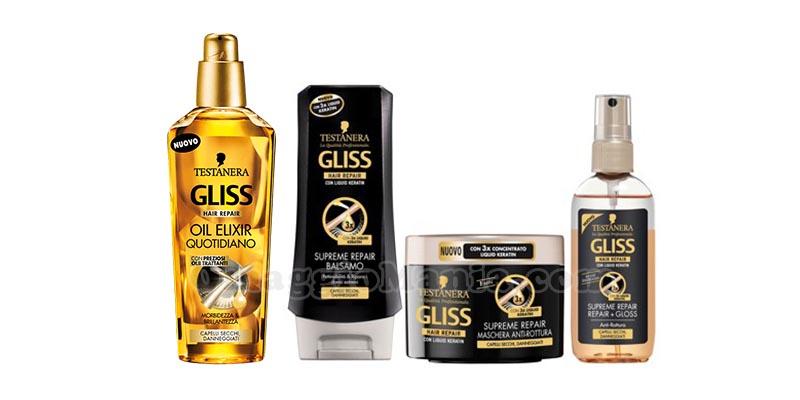 Testanera Gliss Supreme Repair e Oil Elixir